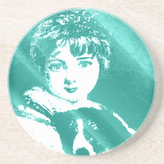 Young Love Sandstone Coaster
