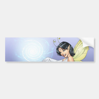 Young Magical Elf Fairy by Al Rio Bumper Sticker