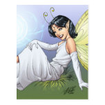 Young Magical Elf Fairy by Al Rio Post Card