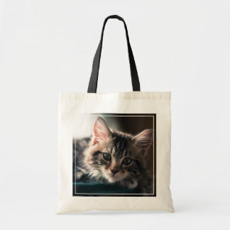 Young Male Tabby Cat 2 Tote Bag