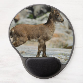 Young male wild goat, Iberian ibex, Spain Gel Mouse Pad
