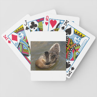 Young Mallard Duck Bicycle Playing Cards