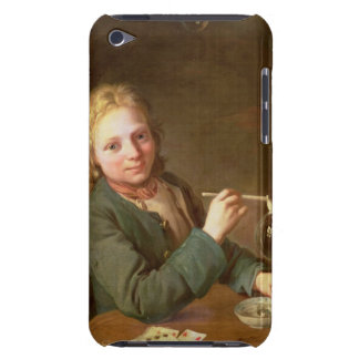 Young Man Blowing Bubbles from a Clay Pipe, 1766 iPod Touch Cases