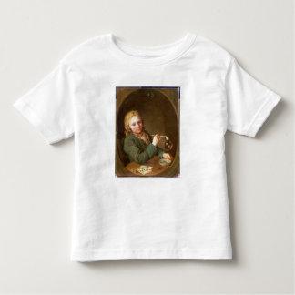 Young Man Blowing Bubbles from a Clay Pipe, 1766 T Shirt