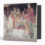Young Man Greeted by Seven Liberal Arts 3 Ring Binder