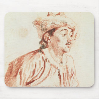 Young Man in Oriental Costume (drawing) Mouse Pad