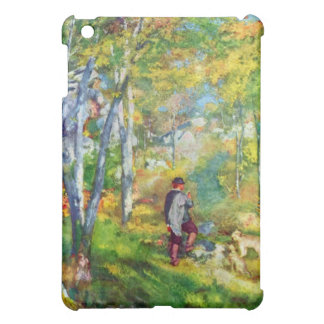 Young man in the forest of Fontainebleau by Renoir iPad Mini Cover