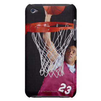 Young Man Making a Basket Barely There iPod Covers