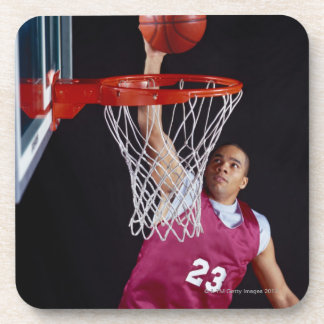Young Man Making a Basket Coaster