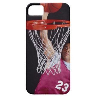 Young Man Making a Basket iPhone 5 Covers