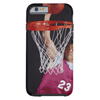Young Man Making a Basket iPhone 6 Case