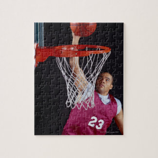 Young Man Making a Basket Jigsaw Puzzle