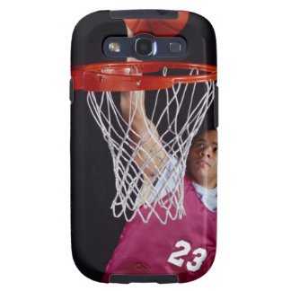 Young Man Making a Basket Samsung Galaxy SIII Case