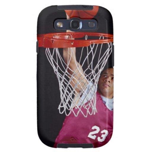 Young Man Making a Basket Samsung Galaxy SIII Case