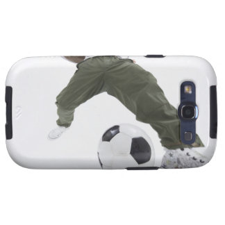 Young man playing soccer 2 samsung galaxy s3 case