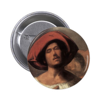 Young man (The impassioned singer)  by Giorgione Pin