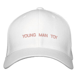 """""""YOUNG MAN TOY"""" - embroidered on cap"""