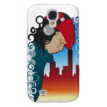 Young Man Wearing Headphones - Samsung Galaxy S4 Samsung Galaxy S4 Cover