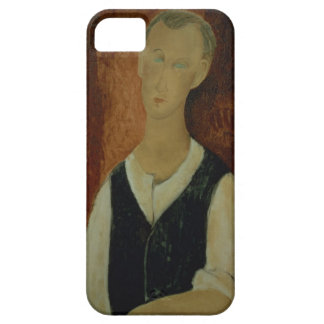 Young Man with a Black Waistcoat, 1912 (oil on can iPhone 5 Cases