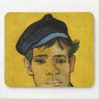 Young Man with a Hat, 1888 Mouse Pad