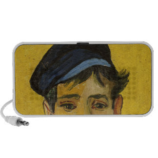 Young Man with a Hat, 1888 iPod Speakers