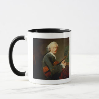 Young Man with a Violin Mug