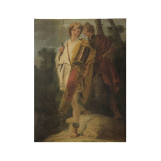Young Man with Bow and large Quiver Wood Poster