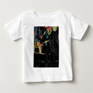 Young man with cat baby T-Shirt