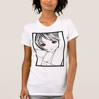 Young Manga Schoolgirl Pinup Art of Children T-Shirt