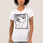Young Manga Schoolgirl Pinup Art of Children Tshirt