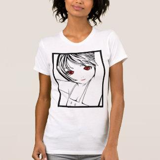 Young Manga Schoolgirl Pinup Art of Children Shirt