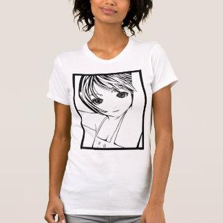 Young Manga Schoolgirl Pinup Art of Children T Shirt