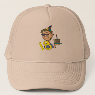 Young Man's 18th Birthday Gifts Trucker Hat