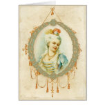 Young Marie Antoinette Greeting Card