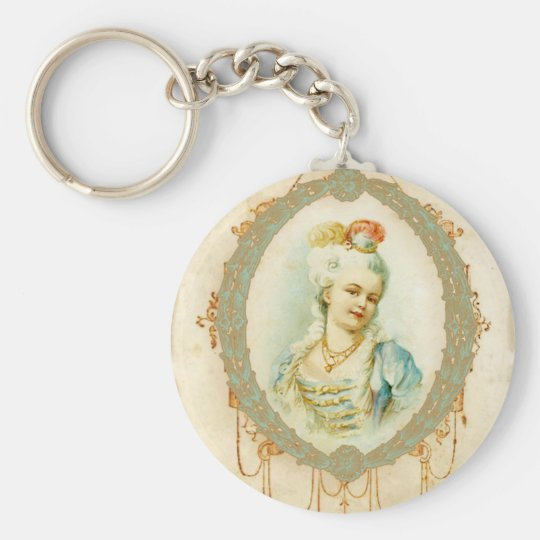 Young Marie Antoinette Keychain