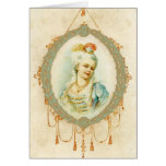 Young Marie Antoinette Portrait Greeting Cards