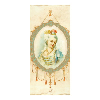 Young Marie Antoinette Portrait Rack Card