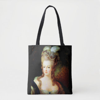 Young Marie Antoinette Tote Bag