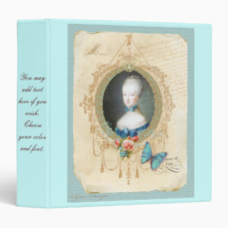 Young Marie Antoinette with Butterfly Binder Album