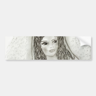 Young Mary II Bumper Sticker