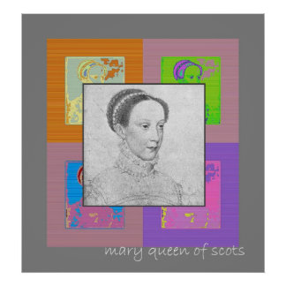 Young Mary Queen of Scots Poster