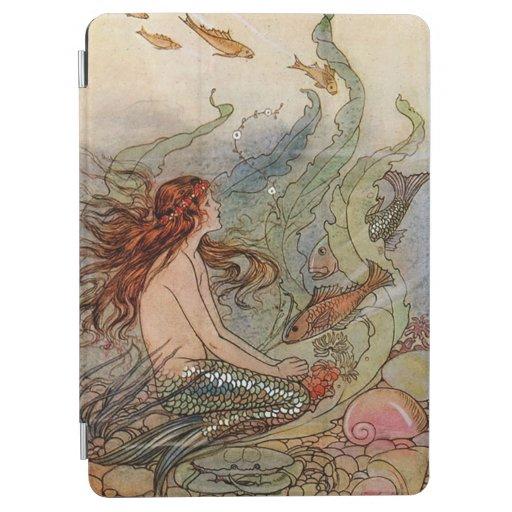 Young Mermaid iPad Air Cover