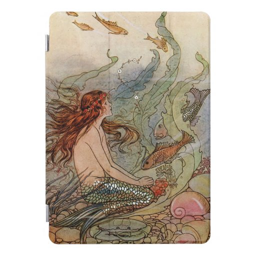 Young Mermaid iPad Pro Cover