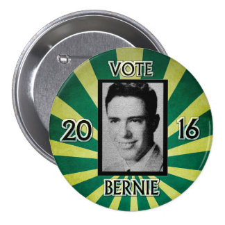 Young Mister Sanders Pinback Button