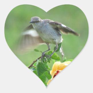 Young Mockingbird bird Stickers