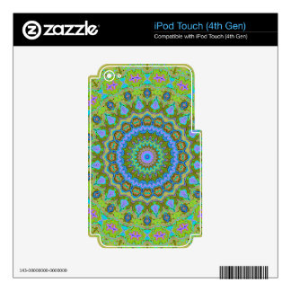 Young Modern Pastels Kaleidoscope iPod Touch 4G Skin