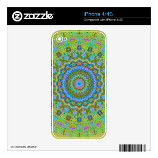 Young Modern Pastels Kaleidoscope Skin For iPhone 4S