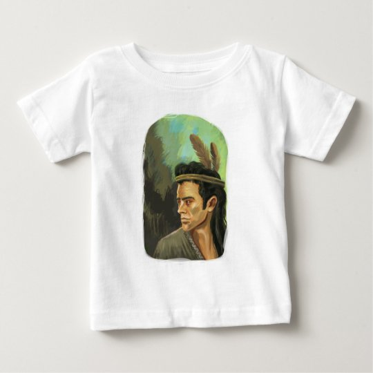 Young Mohican Portrait Infant T-Shirt