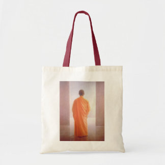Young Monk back view Vietnam Tote Bag