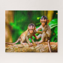 Young Monkeys. Jigsaw Puzzle